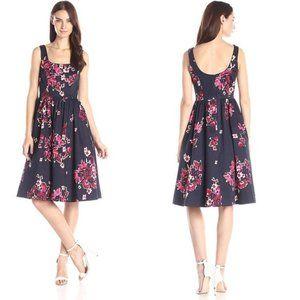 Donna Morgan Floral Midi Dress